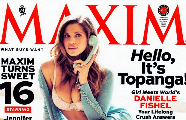 'Topanga' on Maxim Cover