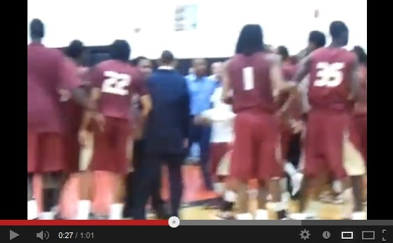 Indian Hills Basketball Fight!