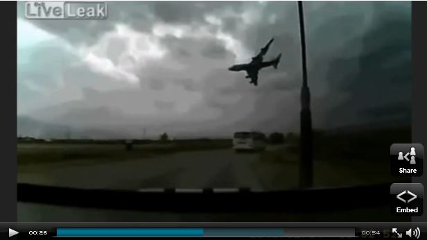 Cargo Plane Crash Caught on Tape