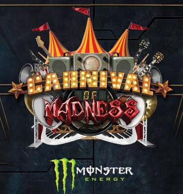 Carnival of Madness- Shinedown, Papa Roach, Skillet, In this Moment