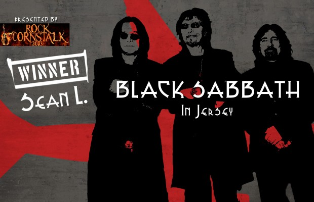 Winner of Black Sabbath in Jersey: Sean L.