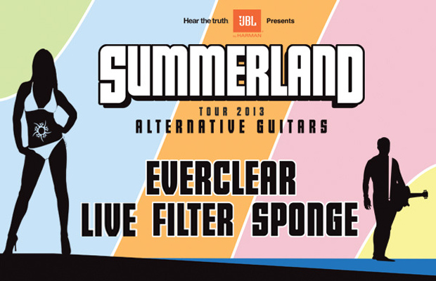 Everclear, Live, Filter & Sponge