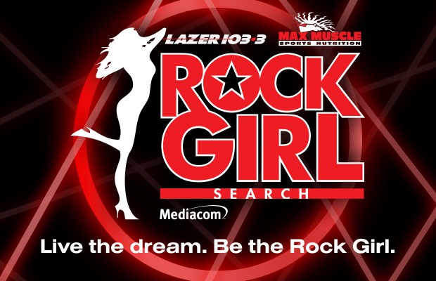 Welcome to LAZER's $40,000 Rock Girl Search