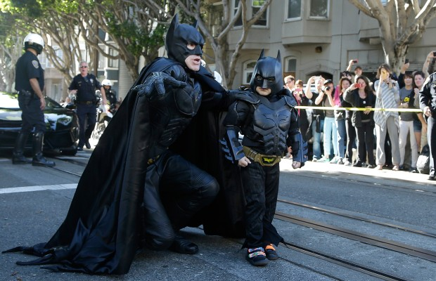 The Most Heartwarming Story in a while: Batkid