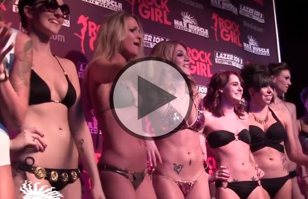 VIDEO: Rock Girl Pageant