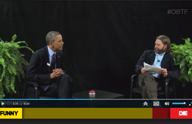 """Between Two Ferns"" with Barack Obama"