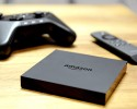 IMAGE DISTRIBUTED FOR AMAZON - Amazon Fire TV is unveiled during a press conference in New York, Wednesday, April 2, 2014. At $99, Amazon Fire TV is the easiest way to watch Netflix, Prime Instant Video, Hulu Plus, WatchESPN, and more on your big-screen TV.