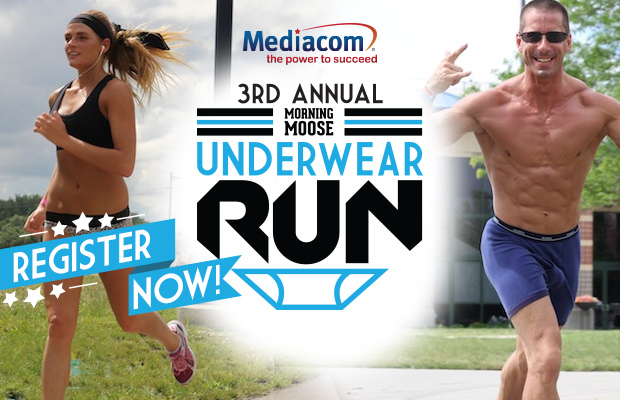 Morning Moose Underwear Run