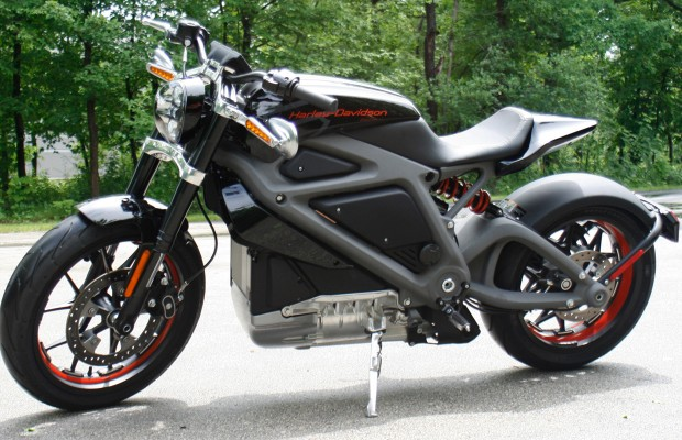 Harley's New Electric Motorcycle