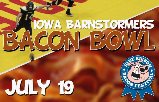 Iowa Barnstormers Bacon Bowl