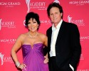 FILE - This April 5, 2009 file photo shows Kris Jenner, left, and her husband Bruce Jenner at the 44th Annual Academy of Country Music Awards in Las Vegas. With speculation flying, Bruce Jenner's mother opened up Wednesday, Feb. 4, 2015, about his gender journey. Esther Jenner, 88, has been besieged by calls from the media in recent days, but the widow in Lewiston, Idaho, isn't interested in fueling gossip. Instead, in a wide-ranging, nearly hour-long phone interview, she praised her Olympian son for his courage, stopping short of some details that have been floated by unnamed sources online and in tabloids. Kris Jenner filed for divorce on Sept. 22, 2014, from estranged husband, Bruce Jenner, citing irreconcilable differences.