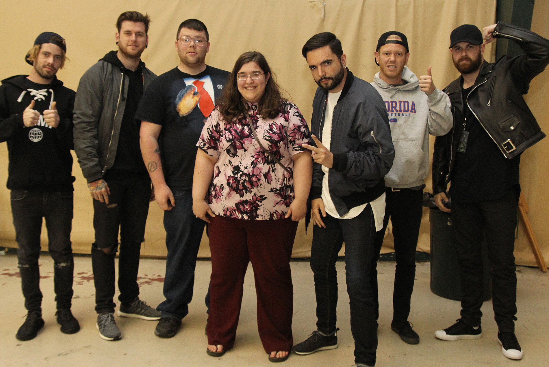 a day to remember meet and greet